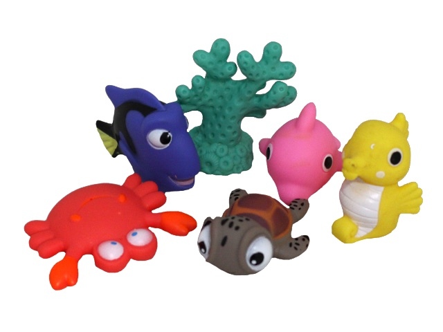 Игрушки для купания  6 шт. Морские жители Y12510051