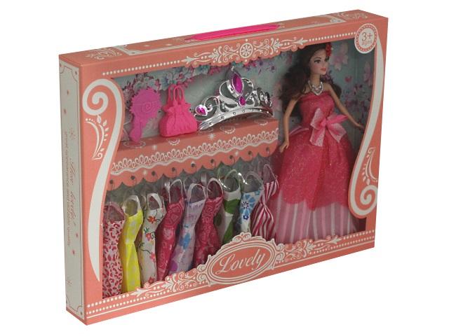 Кукла Модный образ-3 29см с платьями Y23931027