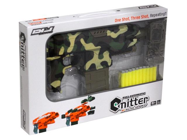 Автомат 10 софт-патронов 45см с прицелом Военный арсенал камуфляж 1801841