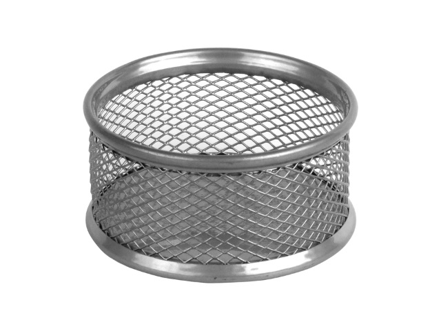 Подставка для скрепок Axent металл круглая серебро 2113-03-A