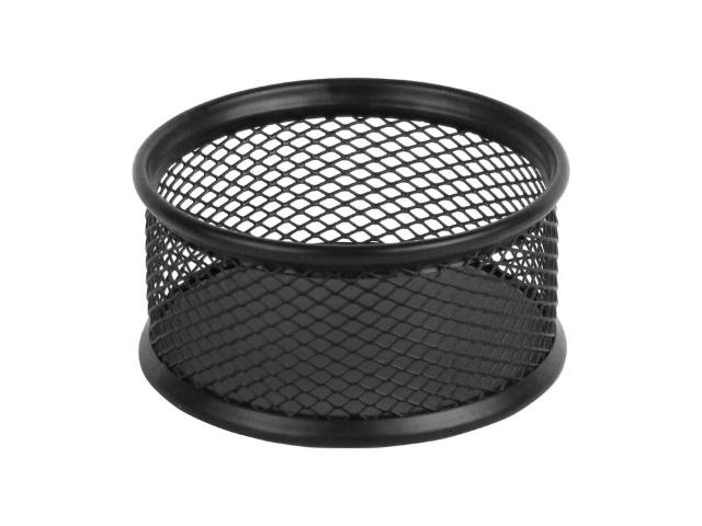 Подставка для скрепок Axent металл круглая черная 2113-01-A