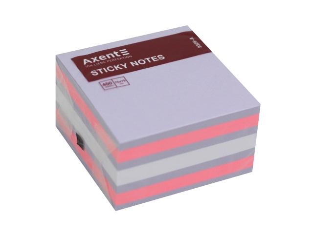 Стикер Axent 75* 75мм 450л 3 цвета 2326-63-A