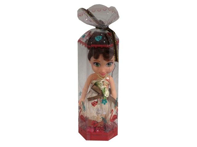 Кукла Emily Цветочный наряд 16см брюнетка 76925