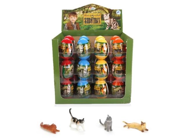 Кошки в цветном яйце U96100117