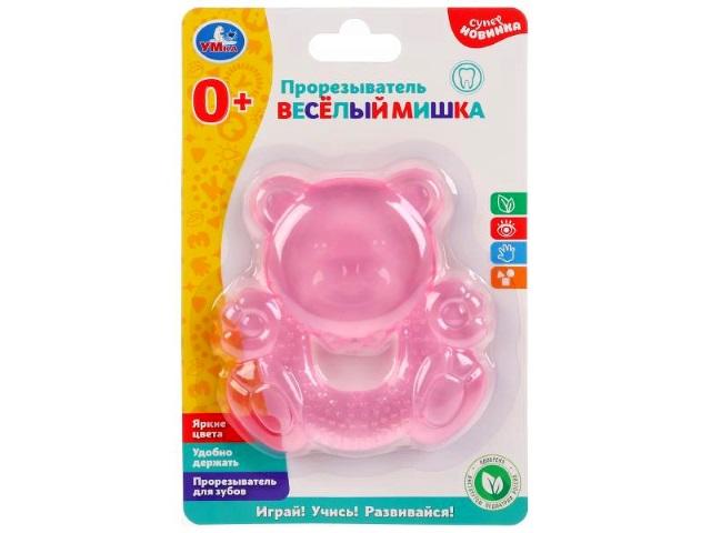 Прорезыватель Веселый мишка Умка WT010-R