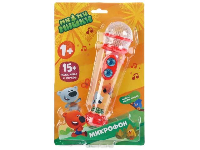 Микрофон на батарейках Мимимишки Умка HT834-R
