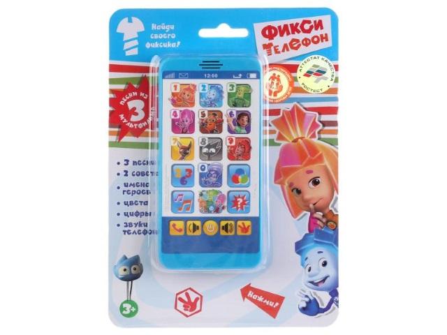 Телефон музыкальный Фиксики Умка HX2501-R3