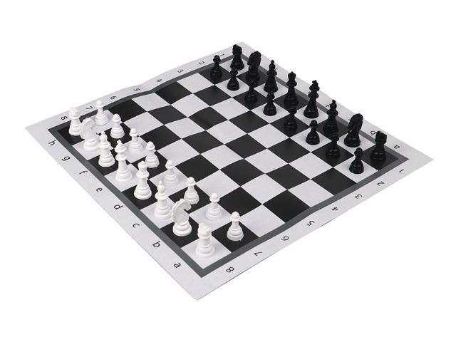 Шахматы классические с полем Рыжий кот ИН-0160