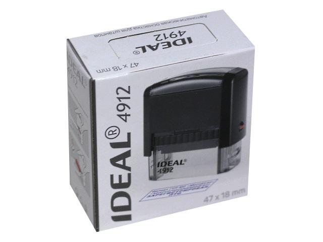 Оснастка для штампа 47*18мм синяя Trodat Ideal 4912P2F 125421