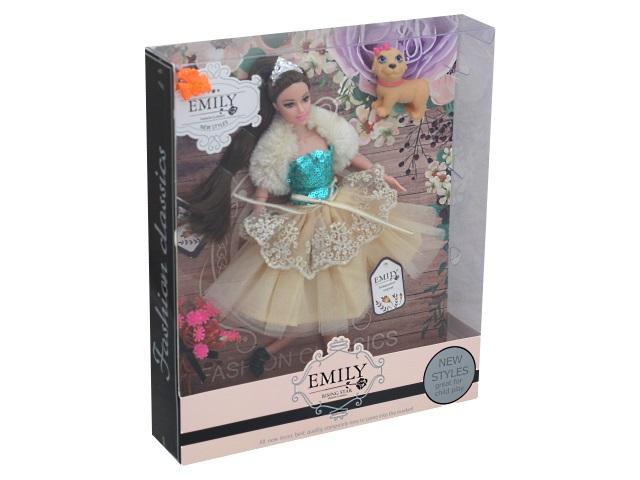 Кукла Emily в королевском наряде 28см 76953