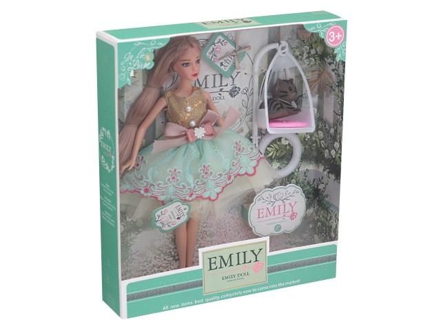 Кукла Emily Ванильное небо 28см с другом 76975