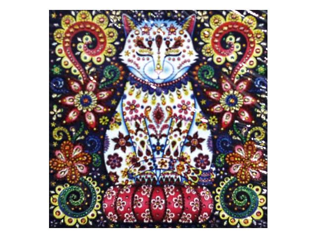 Алмазная мозаика 30*30см Mazari Сказочный кот-3 M-10601