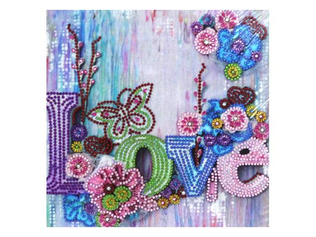 Алмазная мозаика 30*30см Mazari Love M-10604