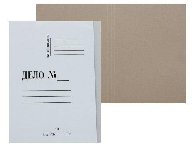 Папка-обложка без скоросшивателя А4 300 г/м2 Союзбланкиздат 66581