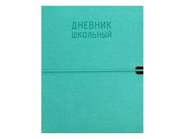 Дневник 1-11кл на резинке интегр/обл Канц-Эксмо Original style Мятный ДИК204830
