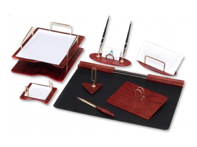 Настольный набор Good Sunrise 8 предметов красное дерево 8S-1A