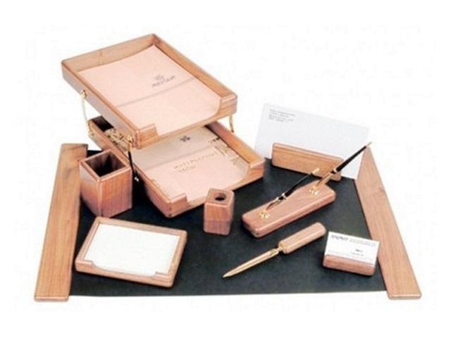 Настольный набор Good Sunrise 9 предметов дуб светло-коричневый K9D-1