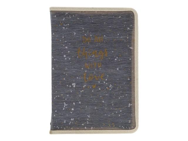Папка на молнии А5 Axent Shade серая 1805-13-A