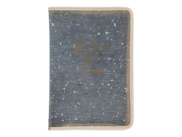 Папка на молнии А5 Axent Shade зеленая 1805-15-A