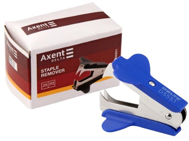 Антистеплер Axent синий D5551-02