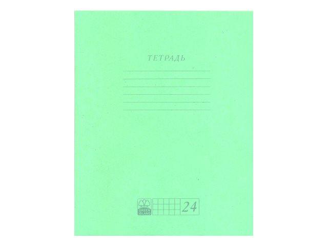 Тетрадь 24л клетка АХ Зеленая 9320\20\120