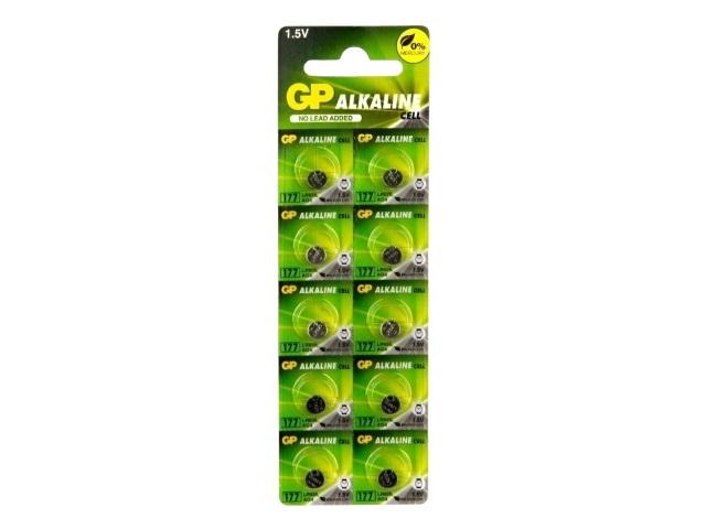 Батарейка часовая GP 177 G4 1.5V Alkaline щелочная