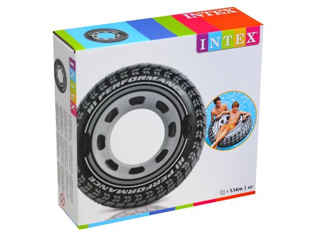 Круг Intex 114см Колесо 56268NP