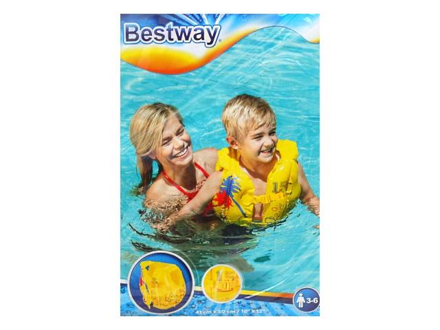 Жилет Bestway 3-6 лет 30*41см Tropical 32069