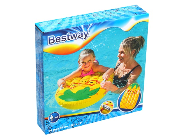 Матрац-плот Bestway  84*56см с держателями Buddy 42049
