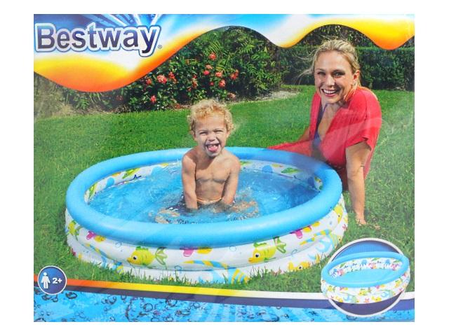 Бассейн Bestway 102*25см Coral Kids 51008