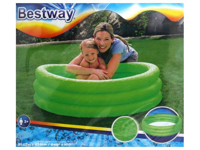 Бассейн Bestway 102*25см Play Pool 51024