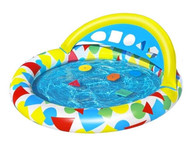 Бассейн Bestway 120*117см Splash and Learn для малышей 52378