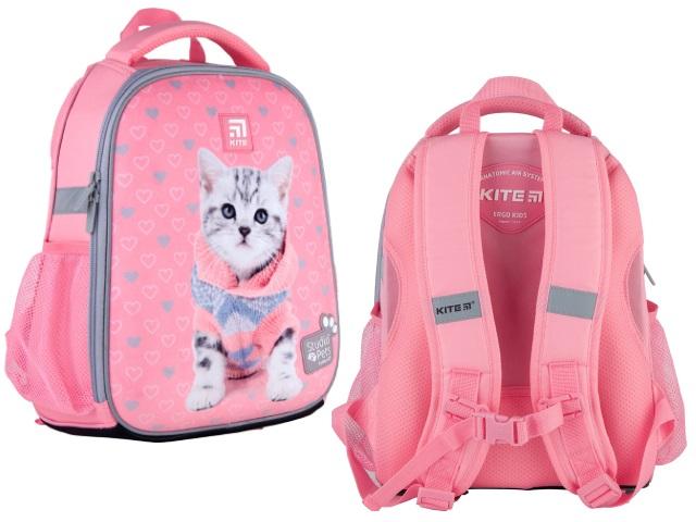 Ранец школьный Kite Education Studio Pets 35*26*13.5см розовый SP21-555S-2