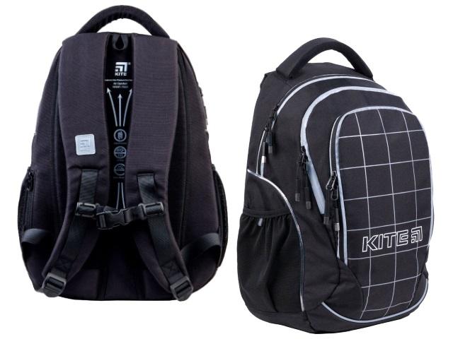 Рюкзак Kite Education Teens LED 45*32*14см черный + подарок K21-816L-3