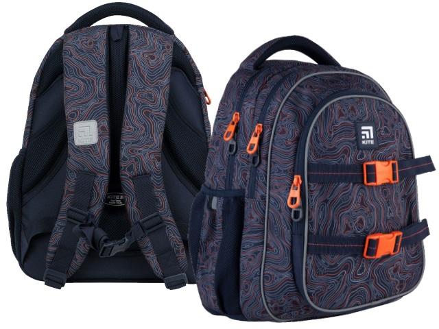 Рюкзак Kite Education Teens 40*29*17см синий + подарок K21-8001M-2