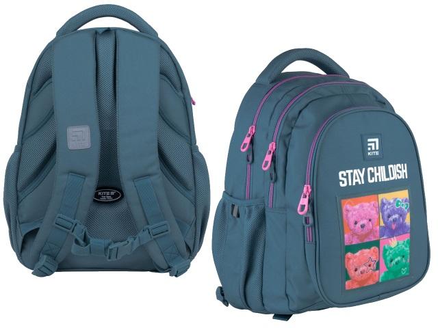 Рюкзак Kite Education Teens 40*29*17см синий + подарок K21-8001M-4