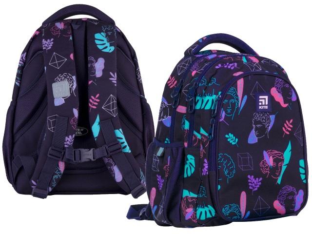 Рюкзак Kite Education Teens 40*29*17см черный + подарок K21-8001M-5