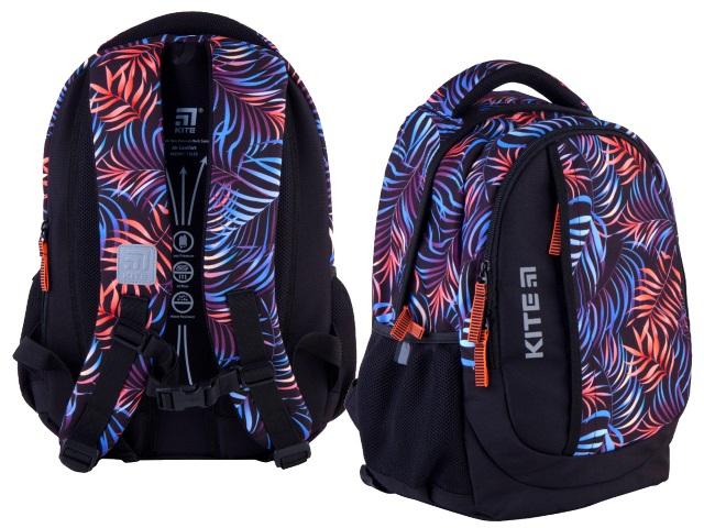 Рюкзак Kite Education Teens 40*30*17.5см черный + подарок K21-855M-1