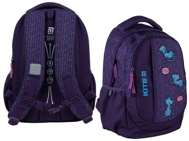 Рюкзак Kite Education Teens 40*30*17.5см фиолетовый + подарок K21-855M-3