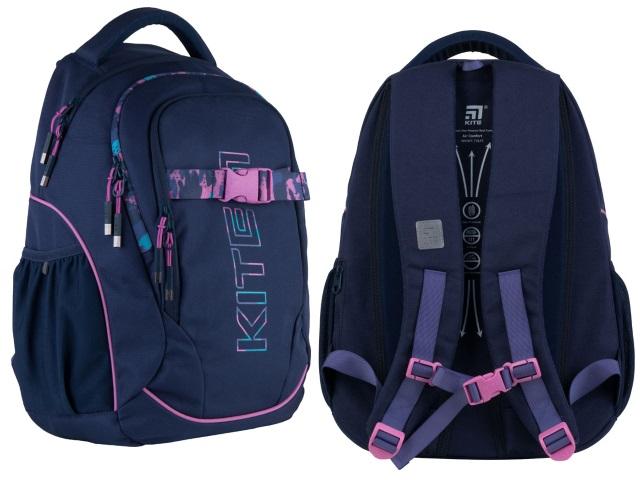 Рюкзак Kite Education Teens 45*32*14см синий + подарок K21-816L-1