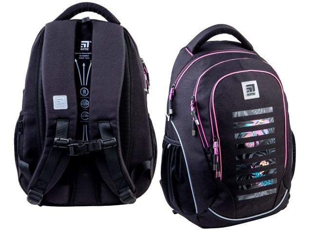 Рюкзак Kite Education Teens 45*32*14см черный + подарок K21-816L-5