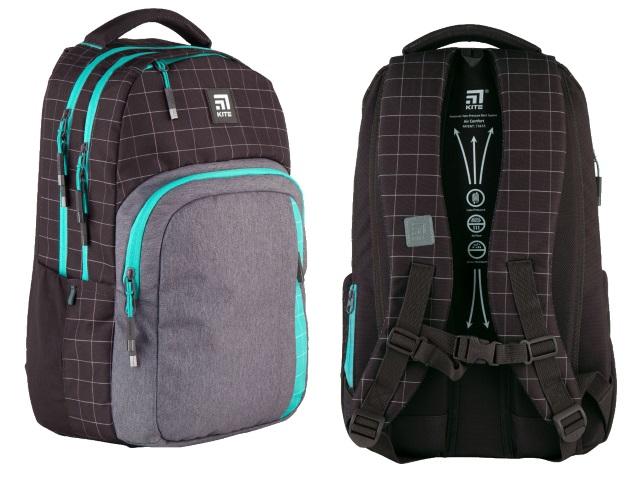 Рюкзак Kite Education Teens 46*30*18см коричневый + подарок K21-2578L-3