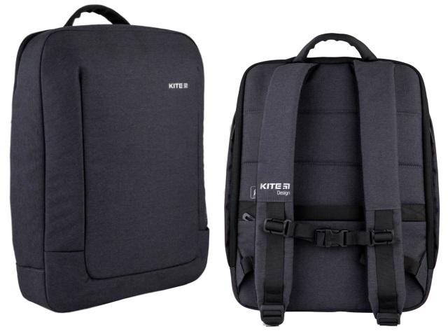 Рюкзак Kite City 40*30.5*7.5см под ноутбук черный K21-2514M-1
