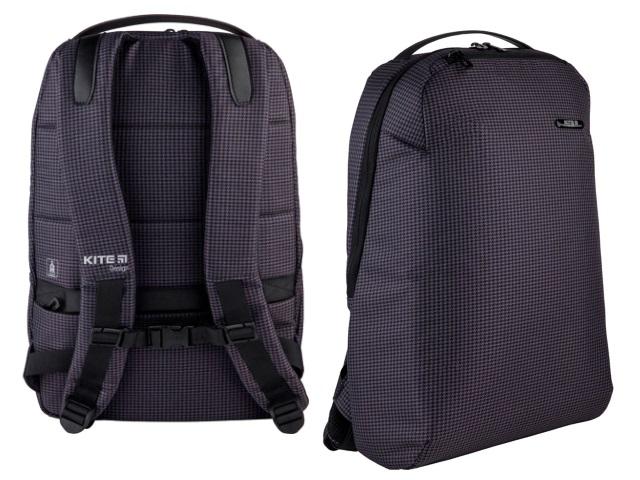 Рюкзак Kite City 44*30.5*11см для ноутбука серый K21-2515L-2