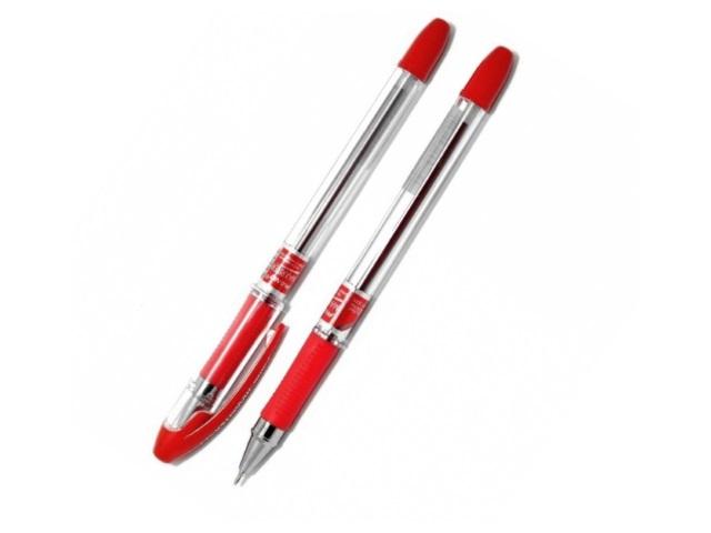 Ручка масляная Piano Maxriter РТ-335 красная 0.5мм