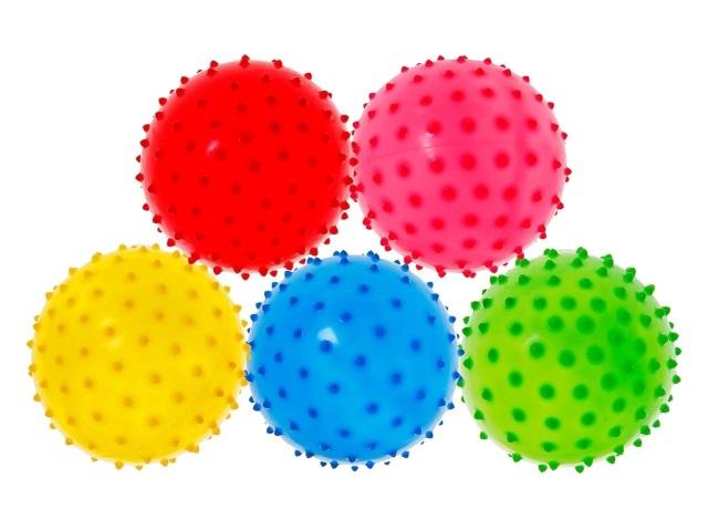 Мяч детский 10см с шипами AN01083