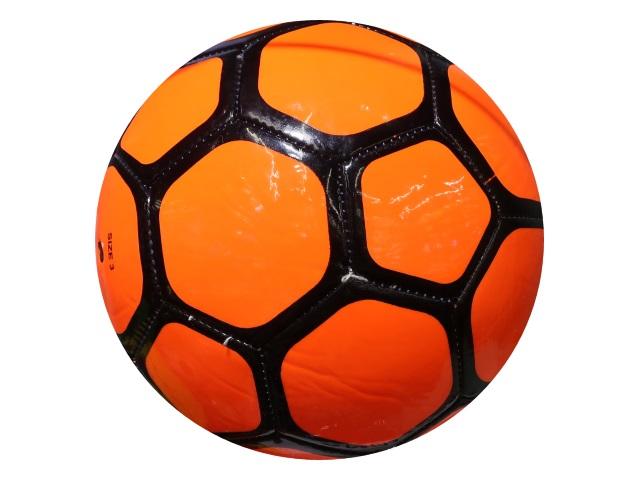 Мяч футбольный детский Рыжий кот оранжевый AN01103