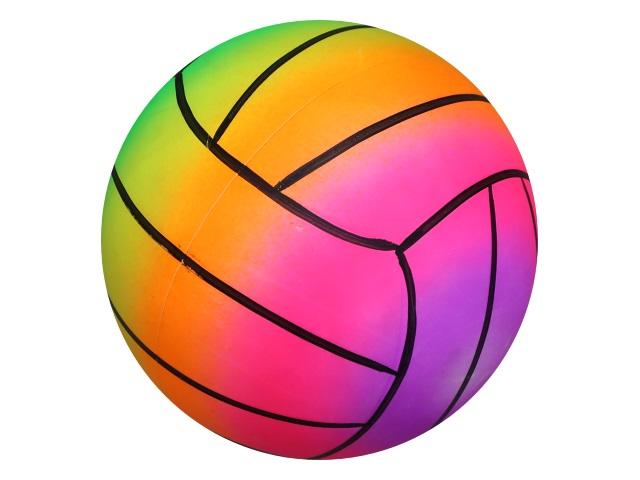 Мяч 23 см Рыжий кот Волейбол неон AN01741