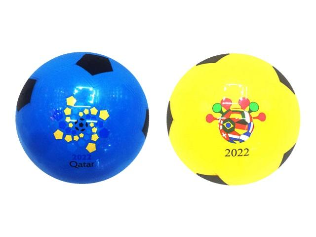 Мяч футбольный детский Рыжий кот цветной 4304