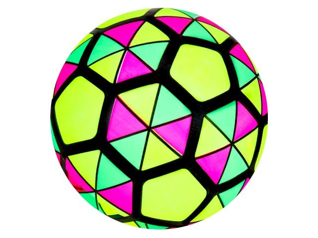 Мяч 22 см Рыжий кот Треугольники TY41